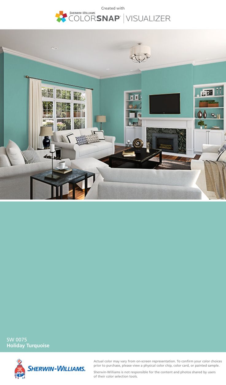 Turquoise Wall Paint 118 Best Paint Images On Pinterest
