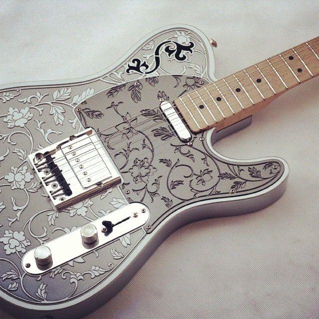 iVee Guitars teleVidi with Ganee Custom Pickups
