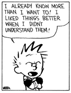 Hobbes Deep - I liked things better when I didn't understand them!