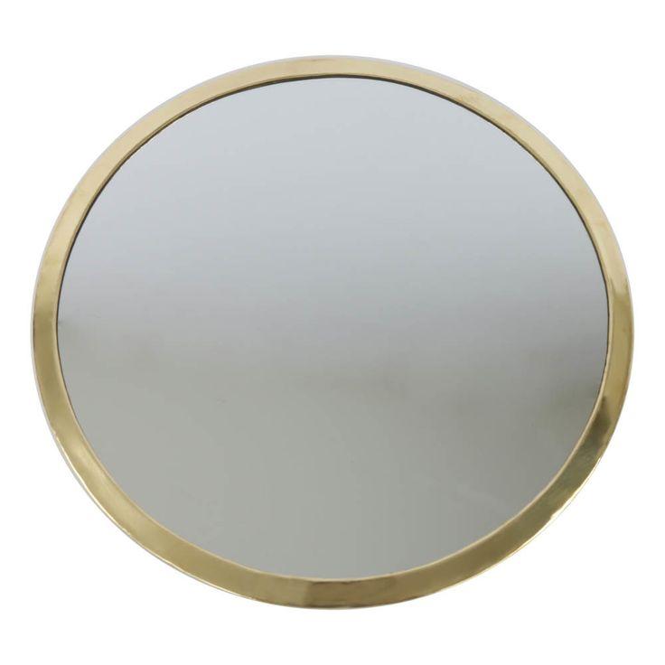 Miroir rond en métal-40cm - Smallable home