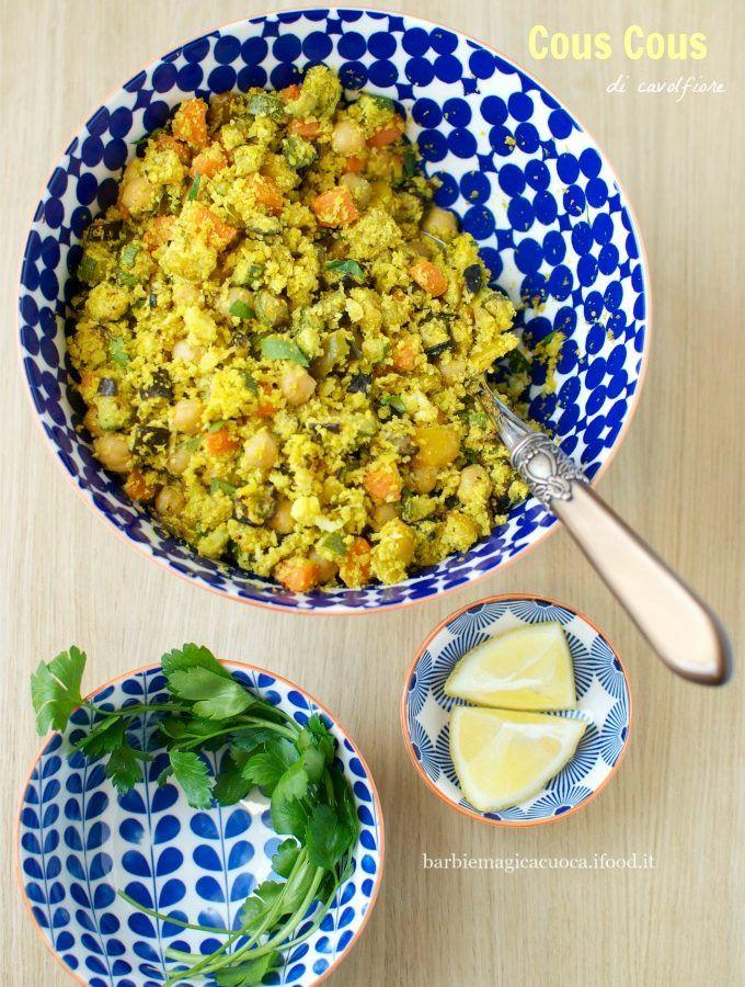 cous cous di cavolfiore con verdure