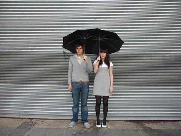 The tandum Umbrella.....duoumbrella