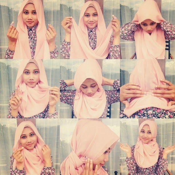 Cute Hijab Tutorial Idea | HIJAB FASHION INSPIRATION