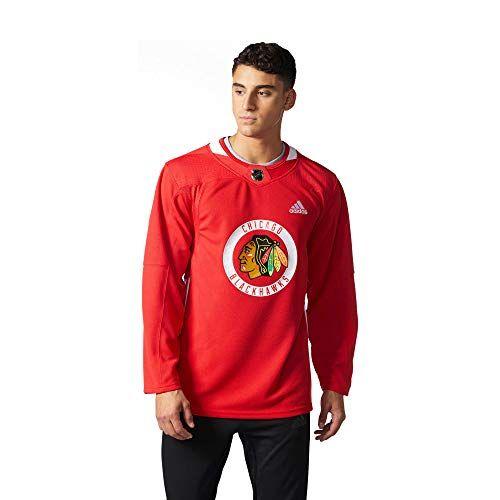 Away Chicago Blackhawks Adidas NHL Men's Climalite Authentic ...