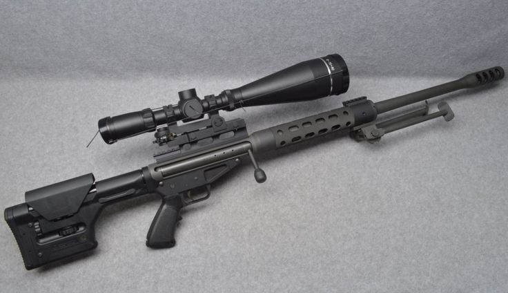 You're not bulletproof... — Safety Harbor Ultra 50 Bolt-action magazine fed...
