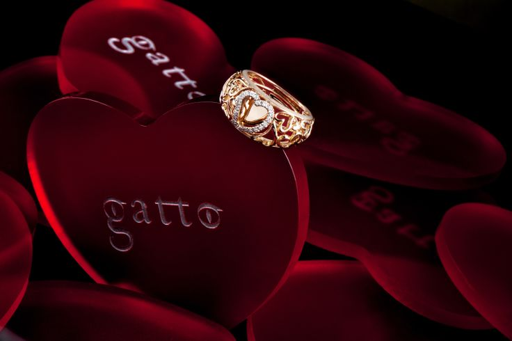 Valentine's day is almost here!  Show your love with this gorgeous Heart Ring from Gatto at Manfredi Jewels! #jewelry #valentinesday #love #heart #manfredijewels