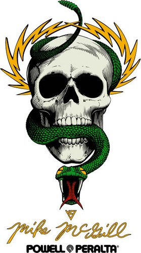 Powell Peralta Mike McGill Skull and Snake