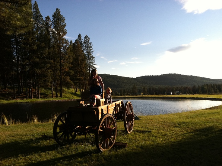 Double Arrow Lodge: Seeley Lake, Montana...I think this is where my nephew is getting married this fall!