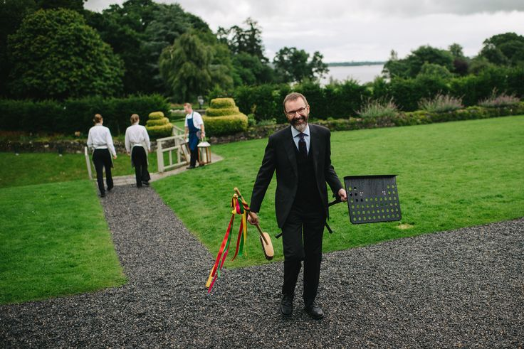Humanist wedding of Julie & Leon conducted by Joe Armstrong (www.joearmstrong.ie) at Virginia Park Lodge, County Cavan, 29 July 2017, Image courtesy of www.simpletapestry.com