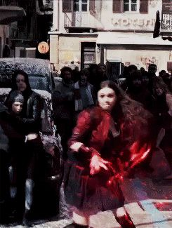 SCARLET WITCH IS THE BEEESSTTTT {Besides Quicksilver, Black Widow, Iron Man, Captain America, Hulk, Hawkeye, and Thor of course}
