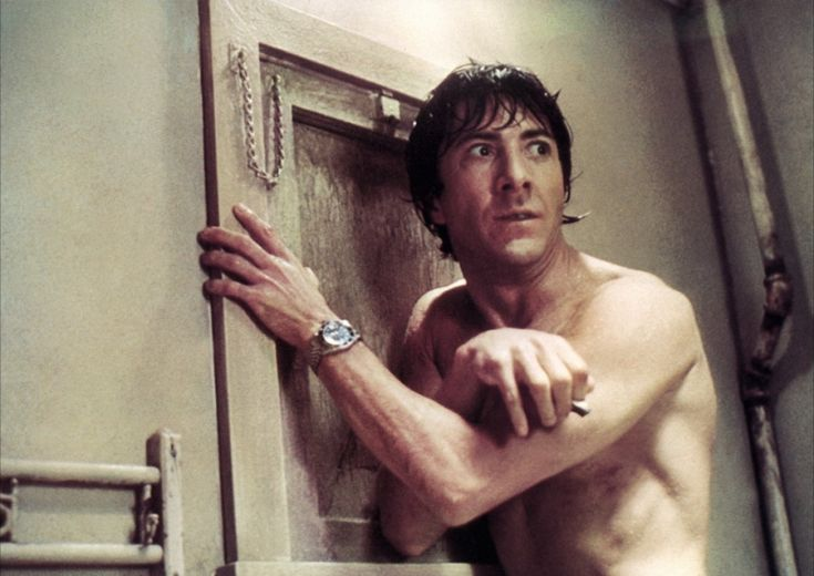 "Dustin Hoffman in ""Marathon Man"" (John Schlesinger, 1976)"