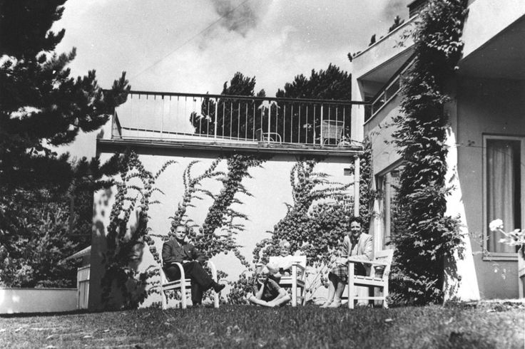 """Villa Wehtje, Falsterbo Sweden. Photographer unknown; courtesy of the collections of the Swedish Centre for Architecture and Design. From the L'AB feature, """"Have It Your Way: Enduring design advice from moderate modernist Josef Frank"""""""