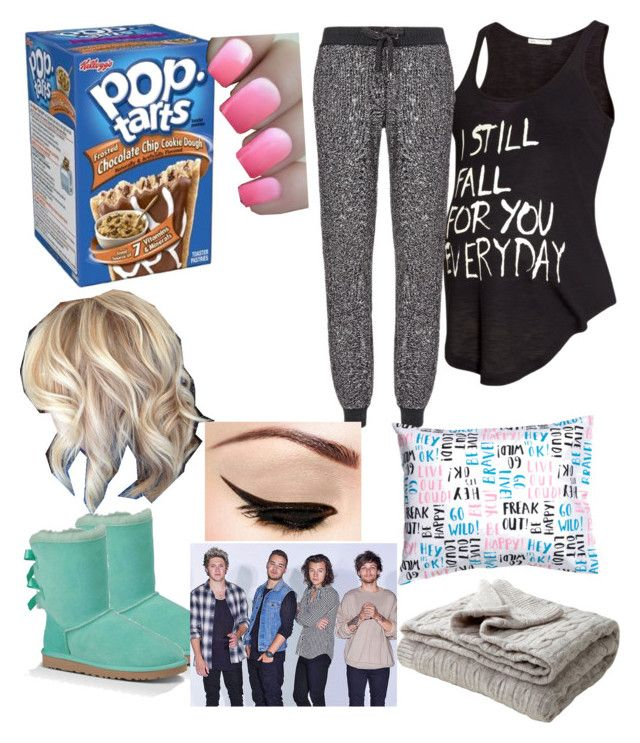 """""""What did I Do to make you leave us???"""" by laughing-jack5 ❤ liked on Polyvore featuring H&M, Sweaty Betty, UGG Australia, OPI and Eichholtz"""