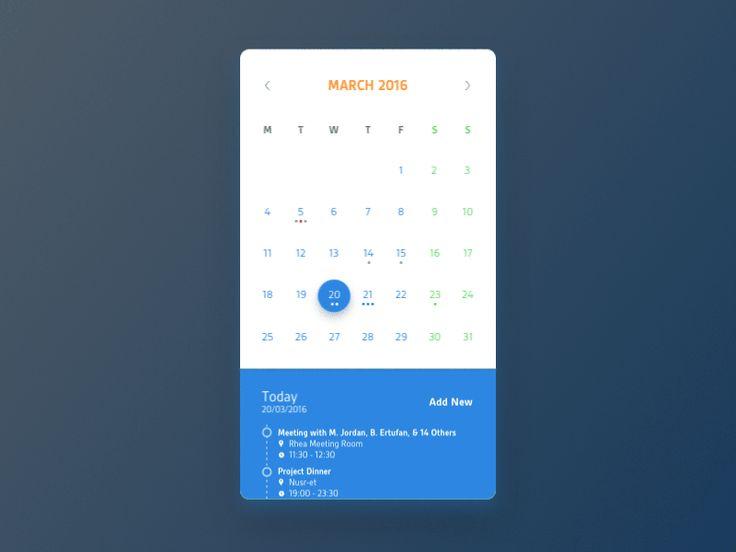 Calendar v0.1