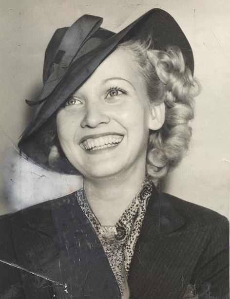 """Carole Landis ~ 27 July 1937  //  Carole Landis (January 1, 1919 – July 5, 1948) American film & stage actress, who worked as a contract-player for Twentieth Century-Fox in the 1940s. Her breakthrough role was as the female lead in the 1940 film """"One Million B.C."""" w/ United Artists. Landis was known as """"The Ping Girl"""" & """"The Chest"""" because of her curvy figure. Landis died of an intentional drug overdose at the age of 29 on July 5, 1948 in Pacific Palisades, Calif."""