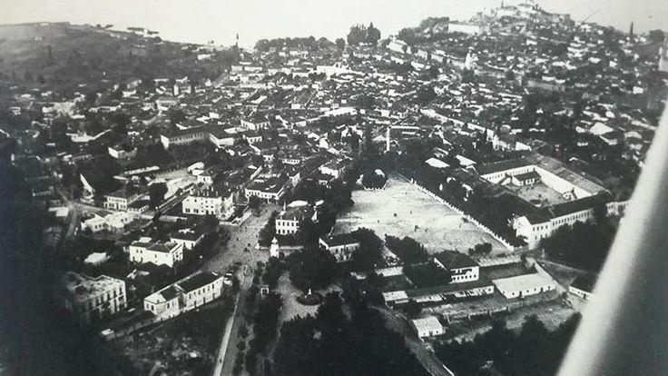 Τα Γιάννενα από αεροπλάνο το 1934