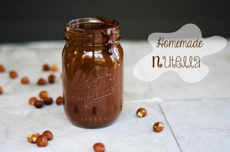 I love Nutella, who doesn't? But of course, now that we eat healthy, we have to have the healthy version, right?  Serves: 2 cups Gluten-free/vegan/paleo/refined sugar-free Ingredients: 2 c. u...