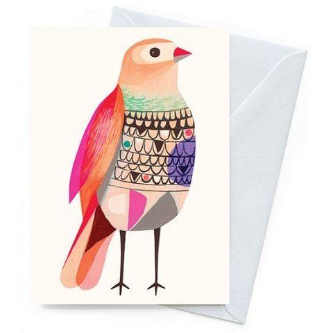 Beautiful Firetail Card - colourdecor.com.au