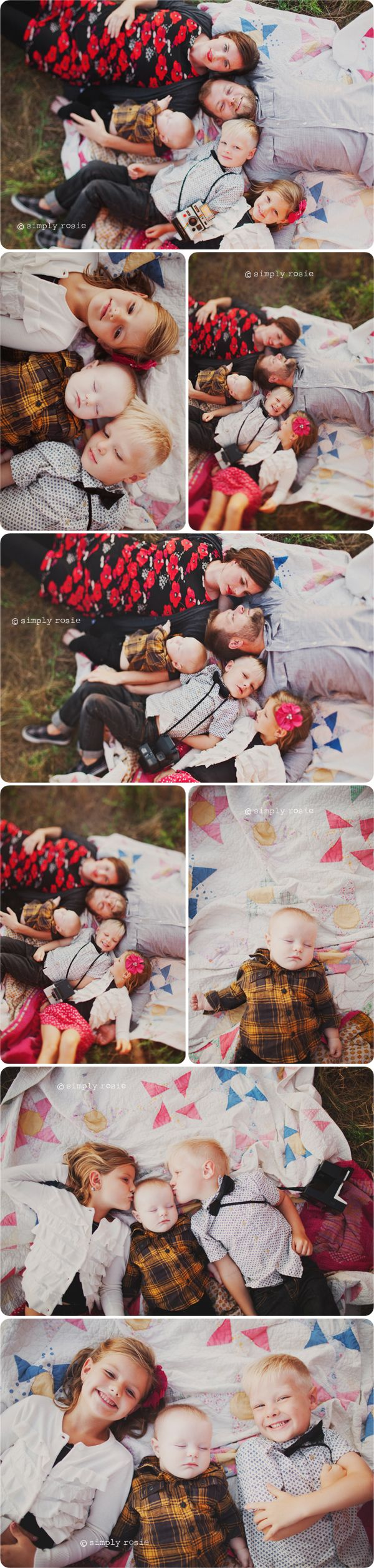Family poses - I know these people. So weird to see them on the Popular Pinterest Board. Very beautiful photos.