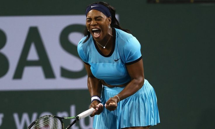 Serena Williams ends Simona Halep's Indian Wells title defence | Sport | The Guardian