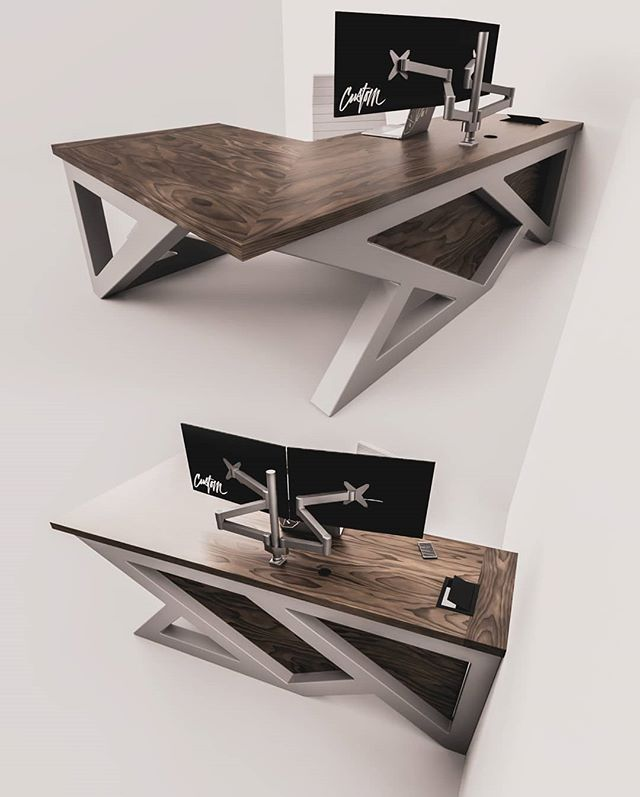 iRcustom.com – Future Modern Schreibtische & Tische – IndustrialReclaim … – #desks #future #industr …