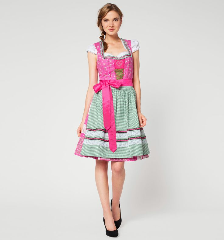 C&A Damen Dirndl in pink / pink von Landhaus - Domodi.cz