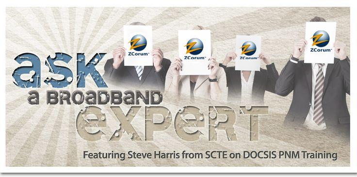 SCTE's Steve Harris on DOCSIS Proactive Network Maintenance (PNM) Training