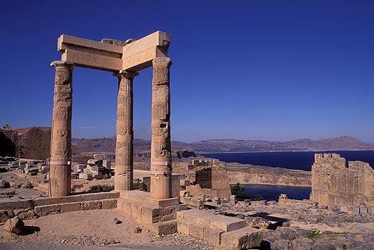 Acropolis, Rhodes Greece