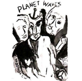 Řadové album zpěváka Bob Dylan - Planet Waves na cd