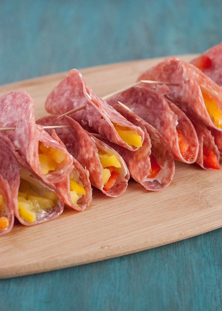 25+ best ideas about Salami appetizer on Pinterest | Low carb appetizers, Easy finger food and ...