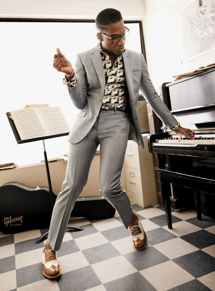 Leon Bridges has a classic R&B sound that feels slightly out of time. Wearing a suit on the weekend? That's a vintage move, too. But as Bridges shows here, the right retro tweaks can help your business clothes find their Saturday-night groove.