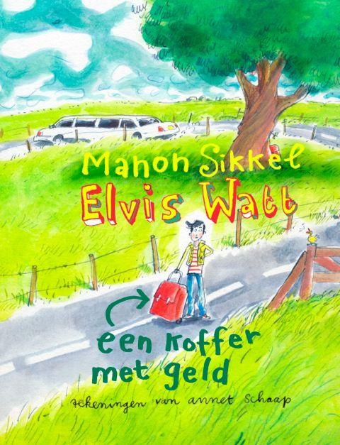 Manon Sikkel: Hihaaaaaaaaa!!! Elvis Watt een koffer met geld staat op de Tiplijst van de Nederlandse Kinderjury 2015. Je kunt er pas vanaf 4 maart 2015 op stemmen. Maar tot die tijd dans ik door de kamer van vre...