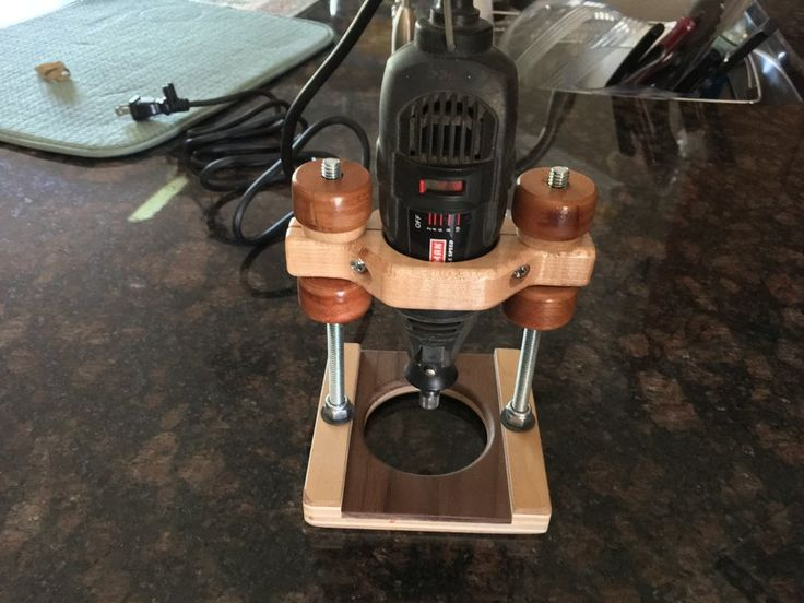 Dremel Router Base Jig (Inspired by Double DD)