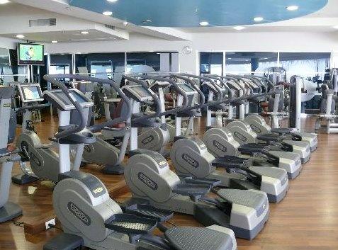 gym - área de cardio, elípticas