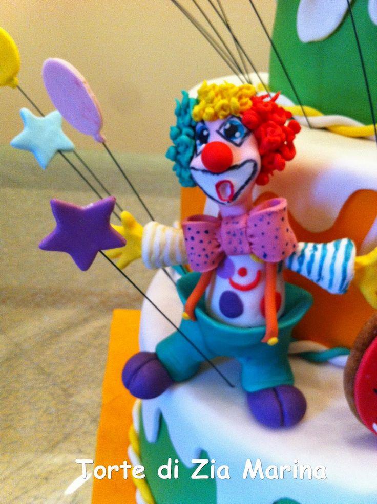 Die besten 25 Clown kuchen Ideen auf Pinterest  Clown
