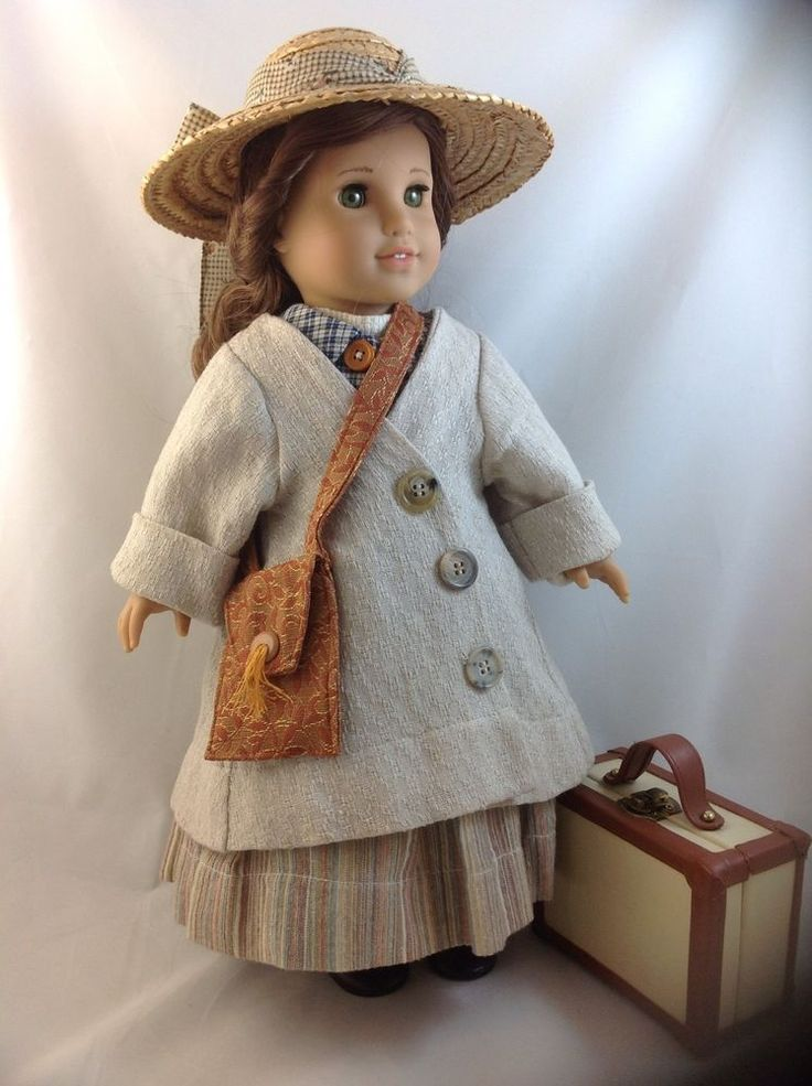 Going to America - Ellis Island Bound 10 Piece Outfit for American Girl Doll  #AmericanGirlDoll