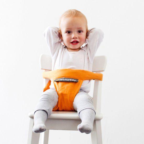 Minimonkey altijd een stoel in een restaurant reizen met kinderen uit eten met kinderen reisblog reischick mamablog