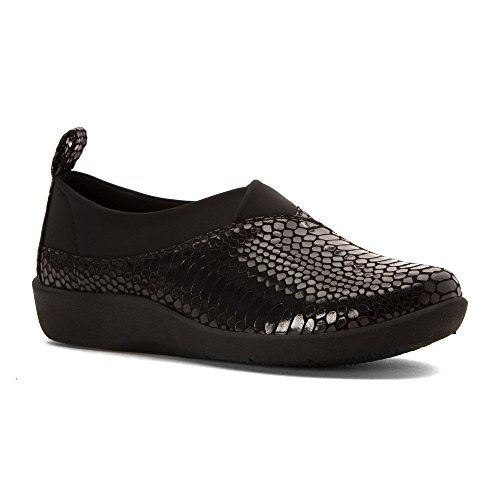 Clarks Zapatos planos Un Elita para mujer, Gris (gris), 9.5 B(M) US