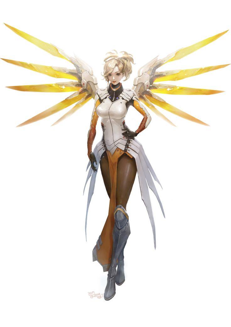 Les 25 Meilleures Idées De La Catégorie Overwatch Mercy