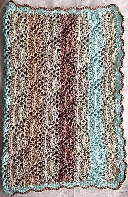 crochet baby blanket pattern  car seat blanket  by PoodleAndPigPig