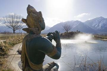 Krishna temple, Spanish Fork, Utah ....beautiful