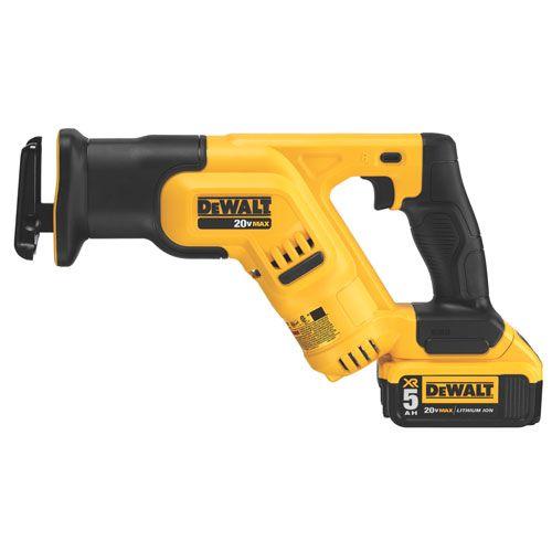 DCS387P1 20V MAX* COMPACT Reciprocating Saw Kit (5.0Ah) | DEWALT Tools 2014