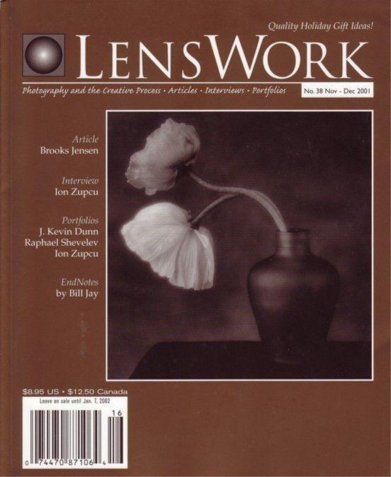 38 LensWork 2001 Ion Zupcu Raphael Shevelev J Kevin Dunn photography magazine