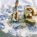raw carrot cake slice w/ tangy citrus frosting » The First Mess