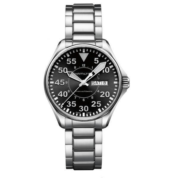 Reloj Hamilton Khaki Pilot Acero 38 MM - Relojería