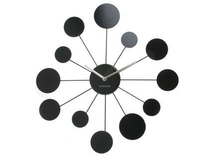 Nástěnné hodiny 5199BK Karlsson 48cm