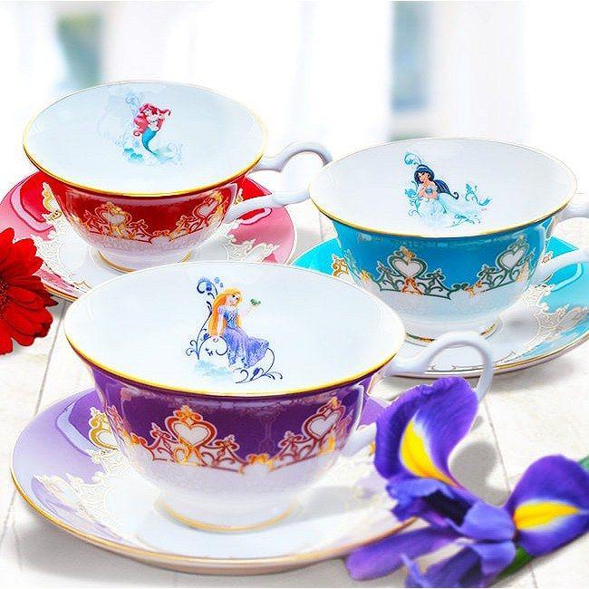 English Ladies Co Bone China Disney Princess Tea Cups Disney Cups Disney Dishes Disney Decor