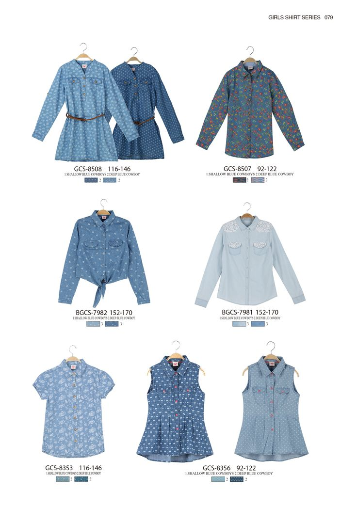 Denim dresses and denim shirts are always in style for girls  #glostory #fashion #forgirls #ss15 #cute #clothing #fashion #dress #shirt #denim #sleeveless