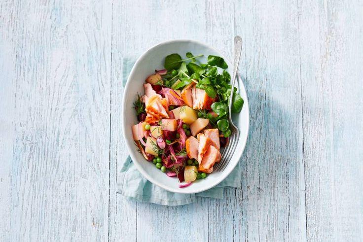 De waanzinnige kleuren in deze salade laten alle verschillende smaken zien: lekker!- Recept - Allerhande