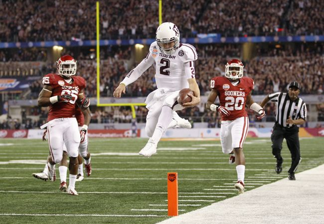 johnny+manziel+memes | Johnny Manziel, Texas A Smash Cotton Bowl Records in Win Over ...